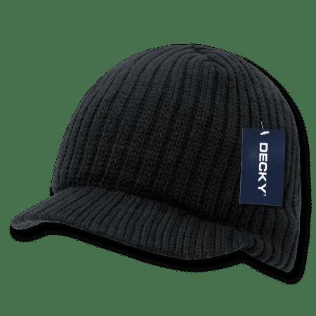 Decky Beanies Beany For Men Women GI Campus Jeep Caps Hats Visor Ski Winter ()