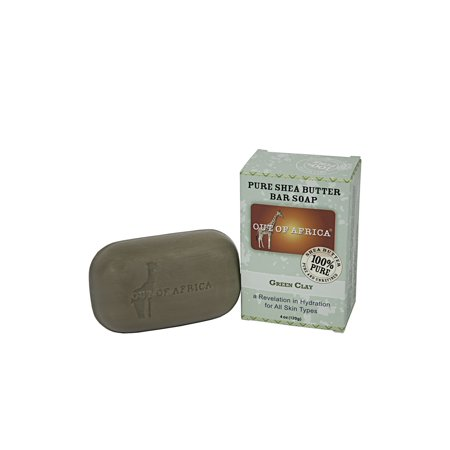 Out of Africa Bar Soap, Green Clay, 4 Oz (Castille Four Light)