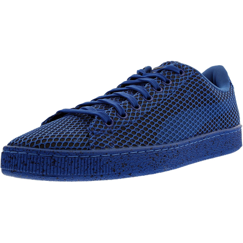 e66521976439c PUMA - Puma Men's Basket Classic Night Camo/Textile Puma Royal Ankle-High  Fashion Sneaker - 11.5M - Walmart.com