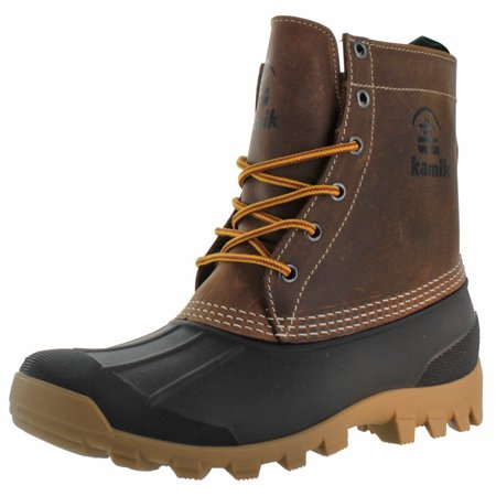 f2afbaba035 Kamik Yukon Men's Waterproof Winter Duck Boots