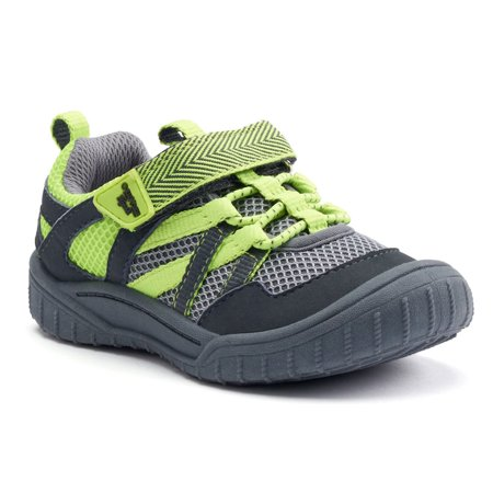 OshKosh B'Gosh Little Boys Domino Bungee-Laced BumpToe Athletic Sneaker