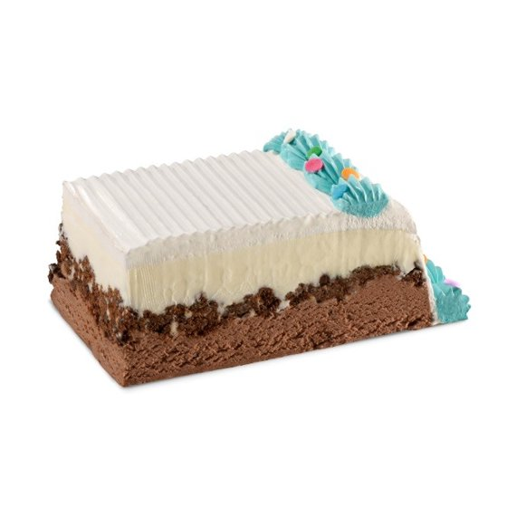 Carvel Party Size Ice Cream Cake Chocolate And Vanilla Crunchies 95 Oz