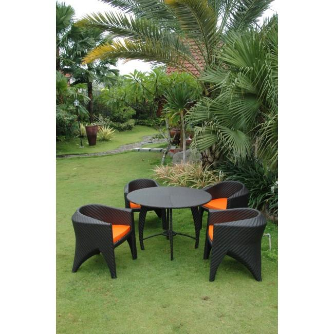 Anderson Teak SR-048 Montebello Patio Seating Set by Anderson Teak