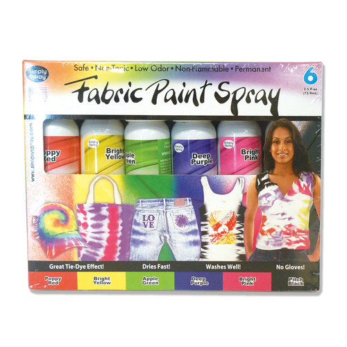 Simply Spray 6pk Soft Paint