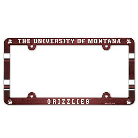 Montana Grizzlies License Plate (Montana Grizzlies Satin)