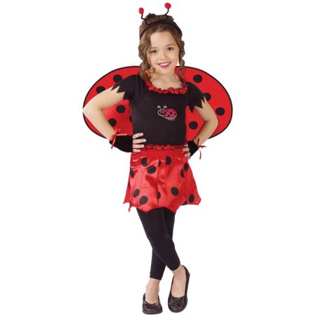 Morris costumes FW114112SM Sweetheart Lady Bug Child - Child Ladybug Costume