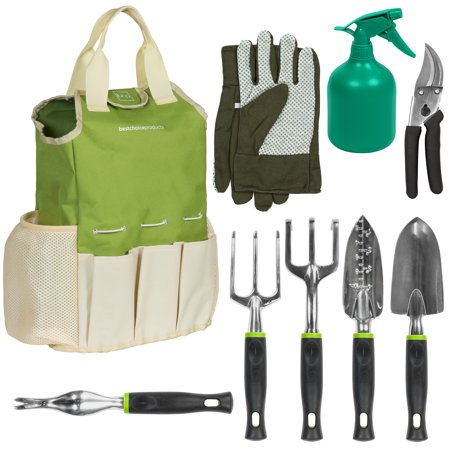 Best Choice Products 9-Piece Gardening Tool Set (Best Tool For Pulling Weeds)