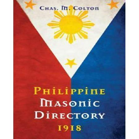 Philippine Masonic Directory 1918