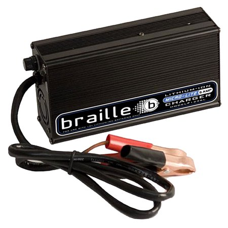 braille auto battery 6 amp 12v lithium battery charger p n. Black Bedroom Furniture Sets. Home Design Ideas
