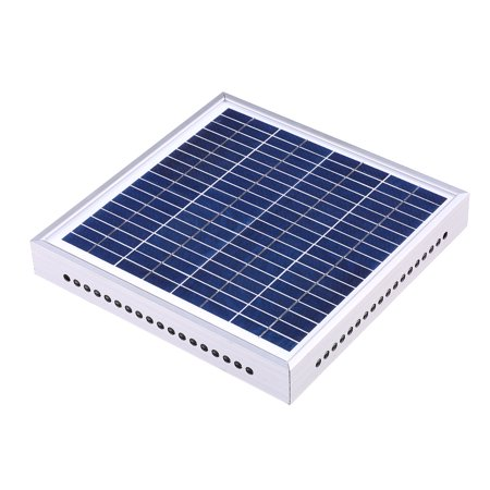 Greenhouse Solar Fan Solar Powered Attic Fan Greenhouse Ventilation Solar Attic Fan Greenhouse Air Circulation Fan Solar Thermostatic Ventilator Roof Fan Roof Top Ventilator (Roof Mount Attic Fan)