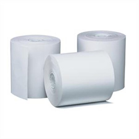 Adorable Supply B044150JY 44 mm. x 150 Ft. White Bond Rolls - 100 Per Case - image 1 of 1