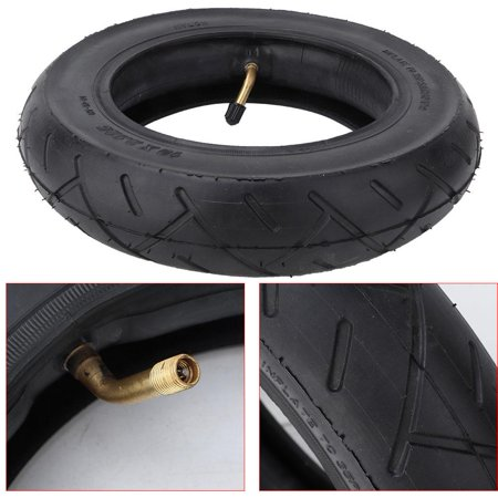 Greensen 10 Inch Outer Tire & Inner Tube Set fits for Mijia M365 Electric Scooter Inflatable Tyre (Inflatable Tire Set)