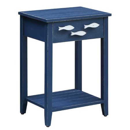 Highland Dunes Harr Nautical End Table with Storage