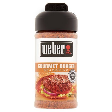 Weber Gourmet Burger Seasoning, 5.75 oz