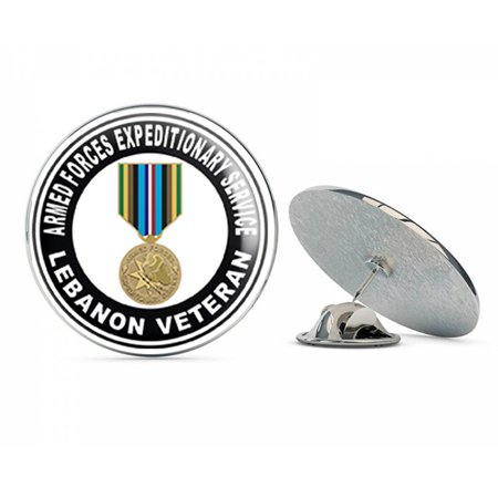 US Navy Armed Forces Expeditionary Medal Lebanon  Military Veteran USA Pride Served Gift Metal 0.75