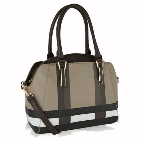 Demi Tote Shoulder Handbag Black Demi Handbag