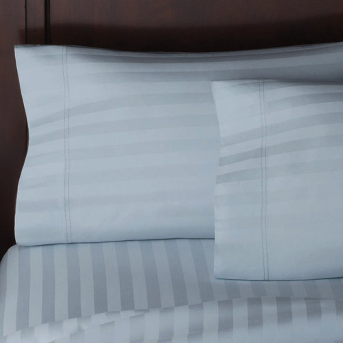 Better Homes and Gardens 300-Thread-Count Pinstripe Blue Damask Wrinkle-Free Pillowcases