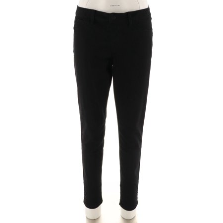 Laurie Felt Silky Colored Denim Pull-On Skinny Ankle Jeans