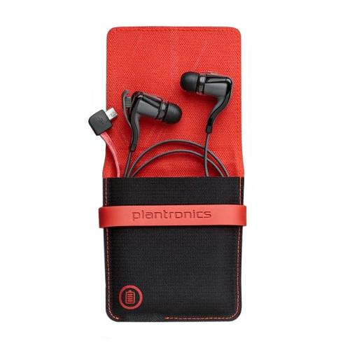 Plantronics Backbeat GO 2 Stereo Bluetooth Headset With Charging Case