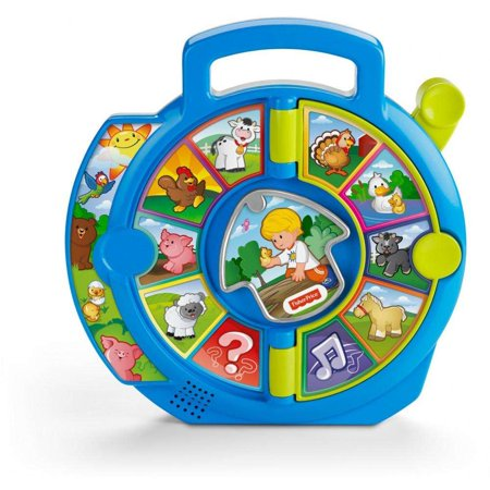 Little People World of Animals See 'N Say with - 1 Year Old Learning Toys