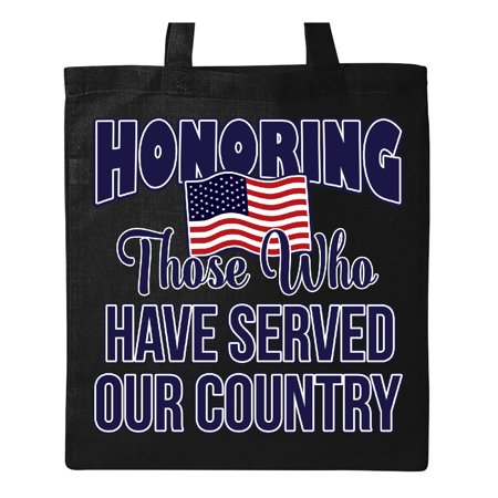 Veteran Jersey Tote (Veterans Day Military Honoring those who Serve Tote)