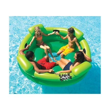 Shock Rocker Inflatable Pool Toy Best Pool Floats And Loungers