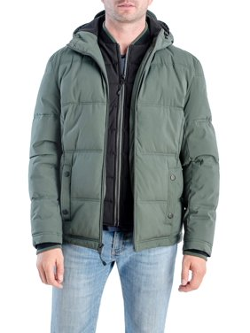 F.O.G Men's Bubble Puffer Jacket, up to Size XL