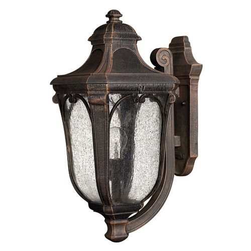 """Hinkley Lighting H1314 17.5"""" Height 1 Light Lantern Outdoor Wall Sconce from the by Hinkley Lighting"""