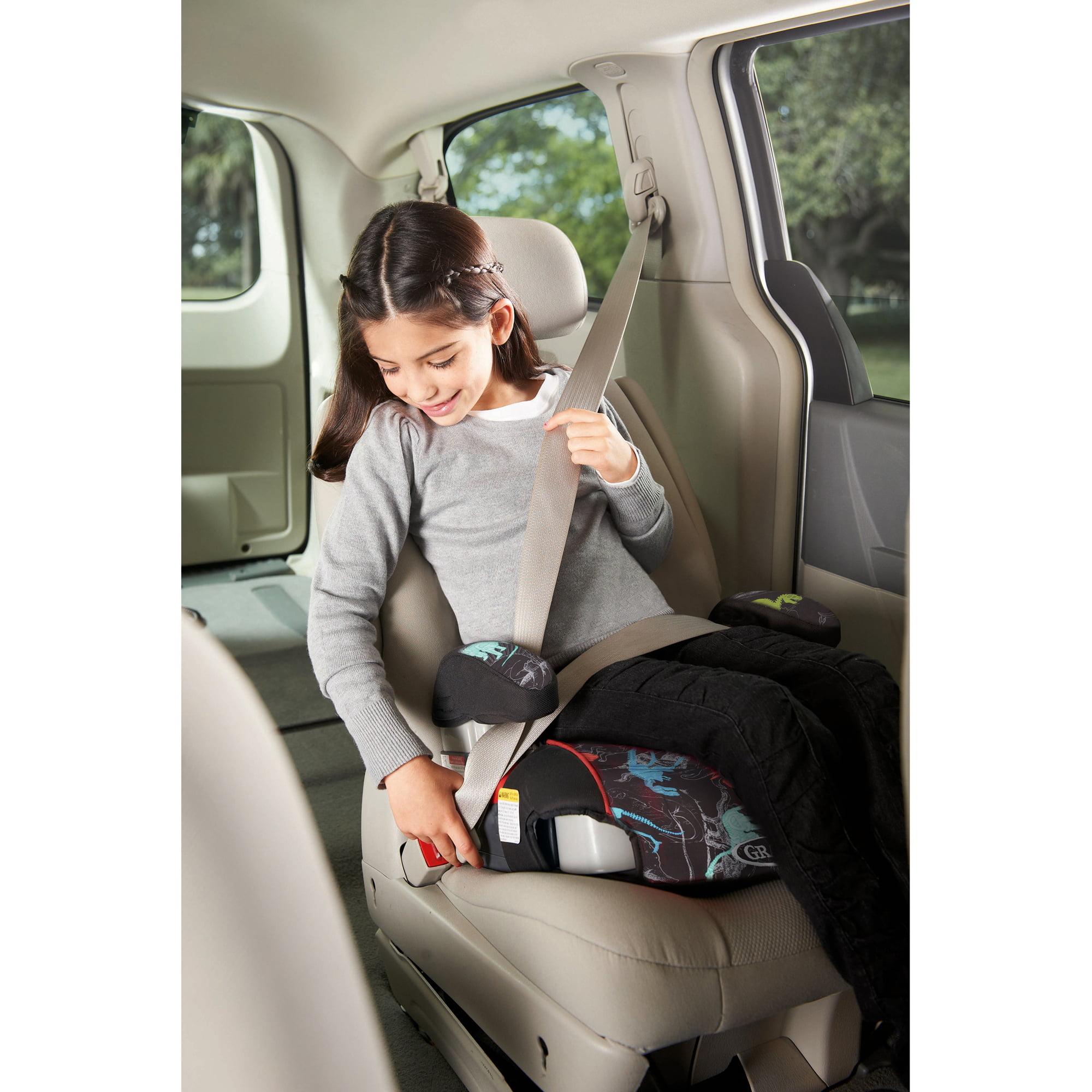 Graco Backless TurboBooster Booster Car Seat Dinorama  Walmartcom