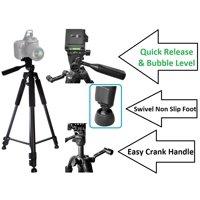 """Super-Pro 60"""" Tripod With Case For Canon Vixia HF R72 R700 R70 R600 R62 R60 G40"""