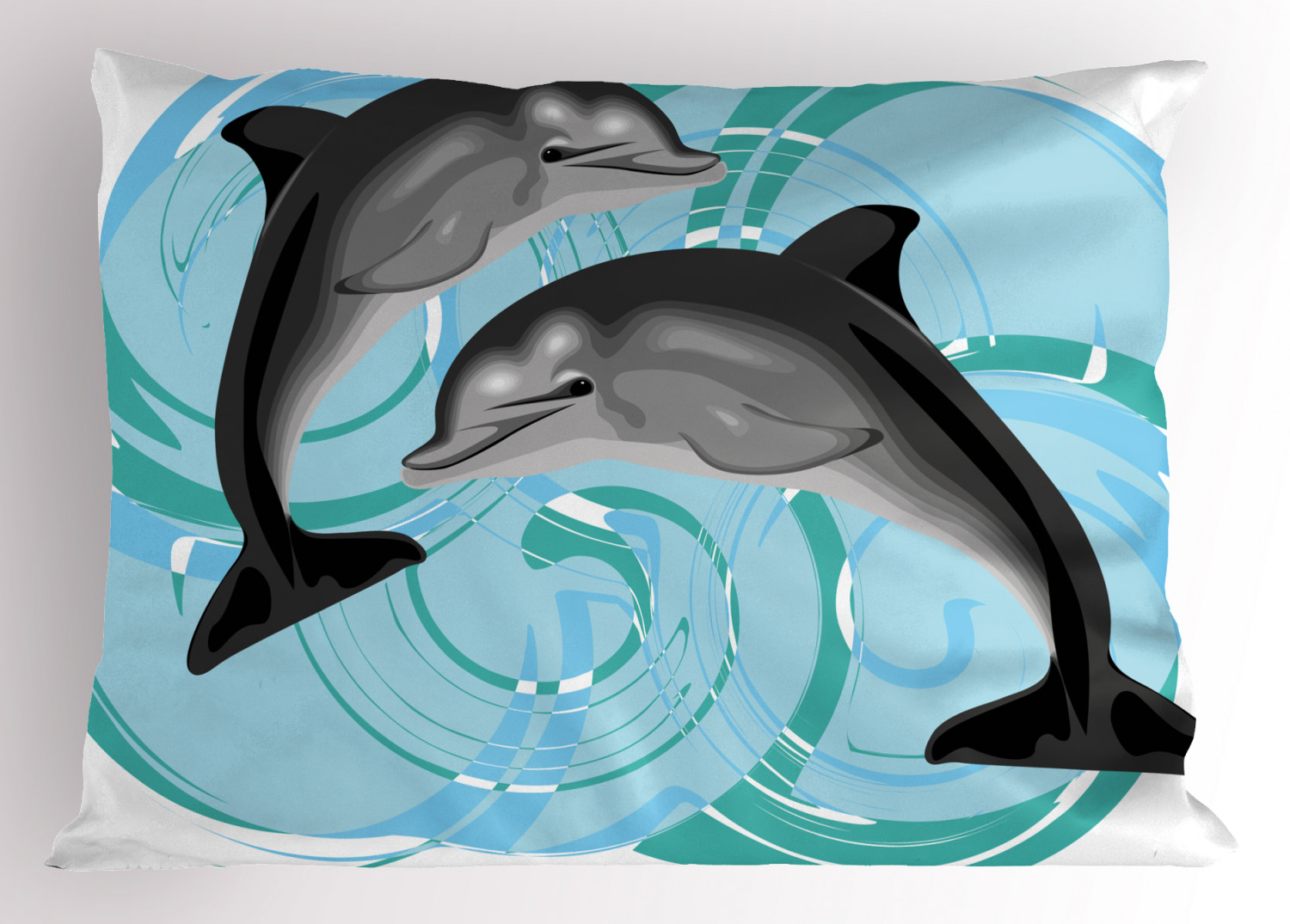 DIY PERSONALIZED Dolphine Color on Pillowcase