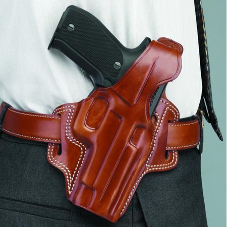 GALCO INTERNATIONAL FLETCH HIGH RIDE BELT HOLSTER Color: Black Gun Fit: Colt Agent Revolver Hand: (Single Action Colt 45 Revolver For Sale)