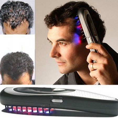 Electric Laser Treatment Promote Growth Stop Hair Loss Regeneration Therapy (Best Product For Hair Loss Treatment)