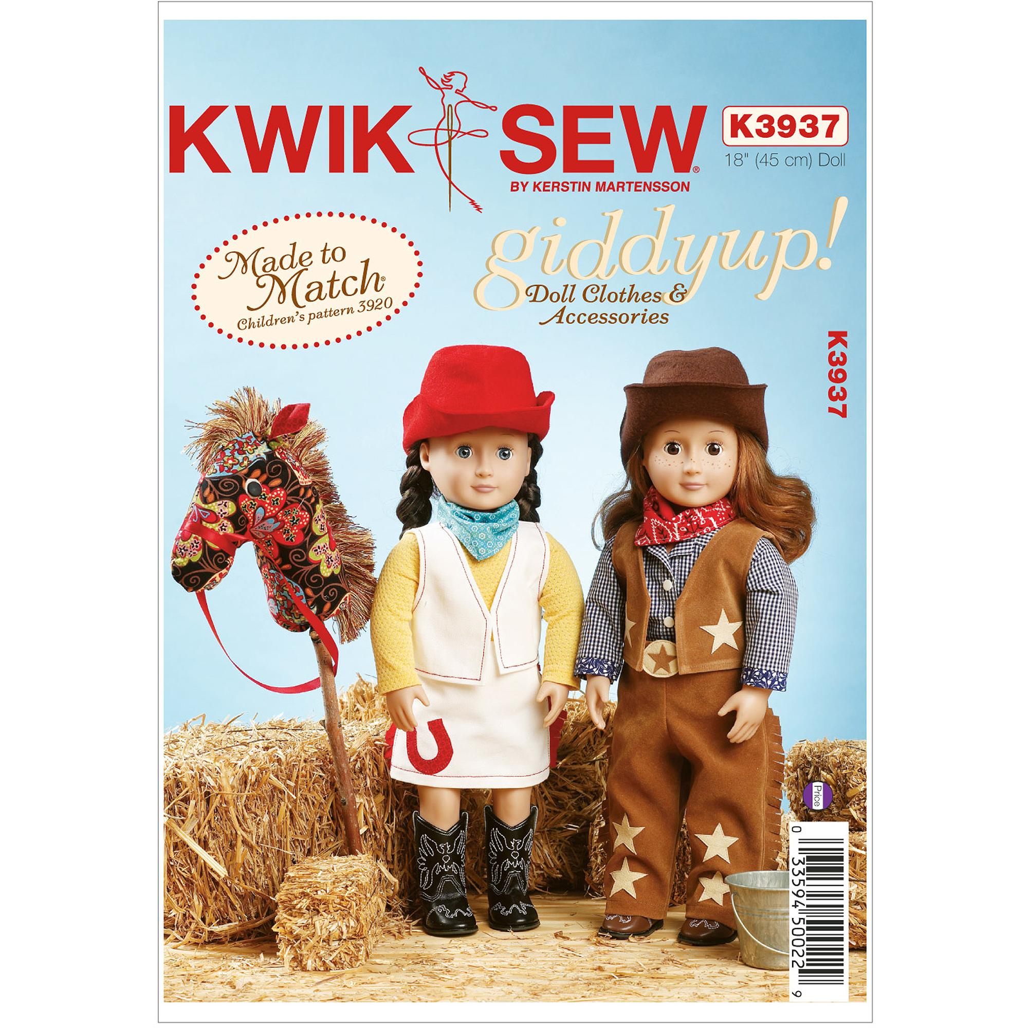 Giddyup Doll Clothes & Accessories-18 (45 cm) Doll