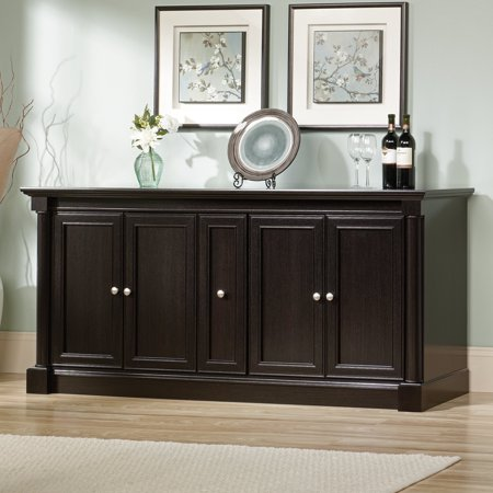 Sauder Palladia Entertainment 70 in. Credenza - Wind Oak