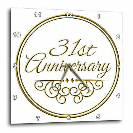 giftgold text for celebrating wedding anniversaries31 years ...