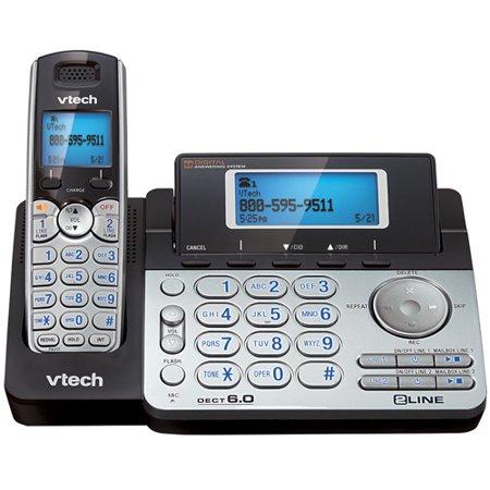 VTech DS6151 Expandable Cordless Phone w/ Dual Speakerphone (Base & Handset)