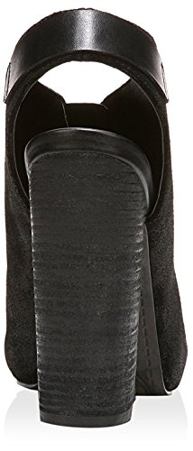 Fergie Women's Rowley Platform Pump, Black, 7 M US