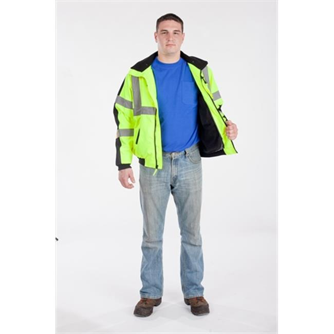 Utility Pro Wear High Visibility Waterproof 3 Season Jacket Class 3