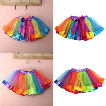Halloween Kids Baby Girls Party Fancy Tutu Fairy Skirt Dancing Costumes Dress Up - Play Baby Hazel Halloween Party