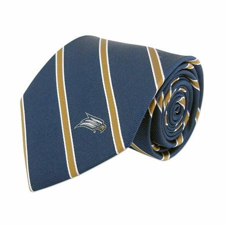 ZEP-PRO Mens NCAA Silk Thin Striped Neck Tie (Georgia Southern University, Thin Stripe)