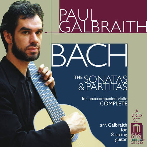 "This set was nominated for the 1999 Grammy Award for ""Best Instrumental Soloist Performance without Orchestra.""<BR>The Sonatas and Partitas were one of Bach's favorite works.  According to a contemporary account, Bach often played them on the harpsichord.  This flexibility of instrumentation was commonplace in Bach's time, and it has always been common for guitarists to transcribe music for their instrument.  Therefore there are many versions of the Sonatas and Partitas for guitar, Andr������s Segovia's being the most famous.<BR>Paul Galbraith puts his own twist on things, however.  He feels that these 6 pieces were conceived as a single composition which tracks the birth, death and resurrection of Christ.  For him to be able to perform these works in one go, Galbraith helped design an 8 stringed guitar that could be played somewhat like a cello, with an endpin that connects to a resonating chamber on the floor.  While this may seem strange, once you hear this recording, there can be no doubt.  Galbraith is incredibly musical, and has a dynamic range that is unmatched by any classical guitarist.  Galbraith almost never pauses between movements, which helps pull the 32 movements together, but it can be draining on the ear.  However, the power of the instrument and performer make this a recording to be treasured."