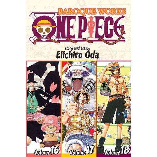 One Piece: Baroque Works 16-17-18: Shonen Jump Manga Omnibus Edition