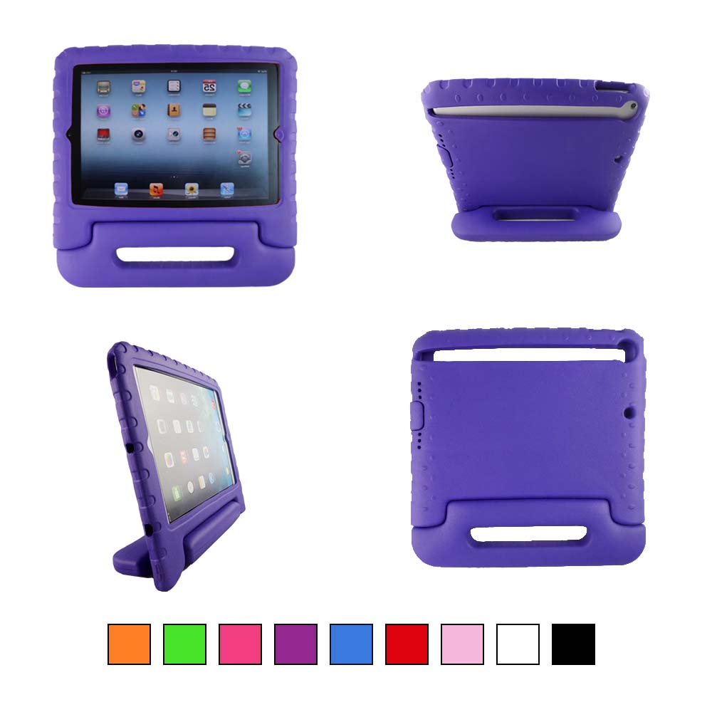 TCD for Apple iPad Air & New 9.7 Series Lightweight Foam SHOCKPROOF Kickstand Case