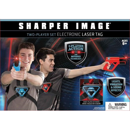 Sharper image two player electronic laser tag (Laser Imaging)