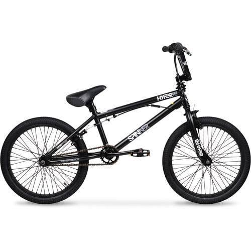 20 Hyper Spinner Pro Boys Bmx Bike Black