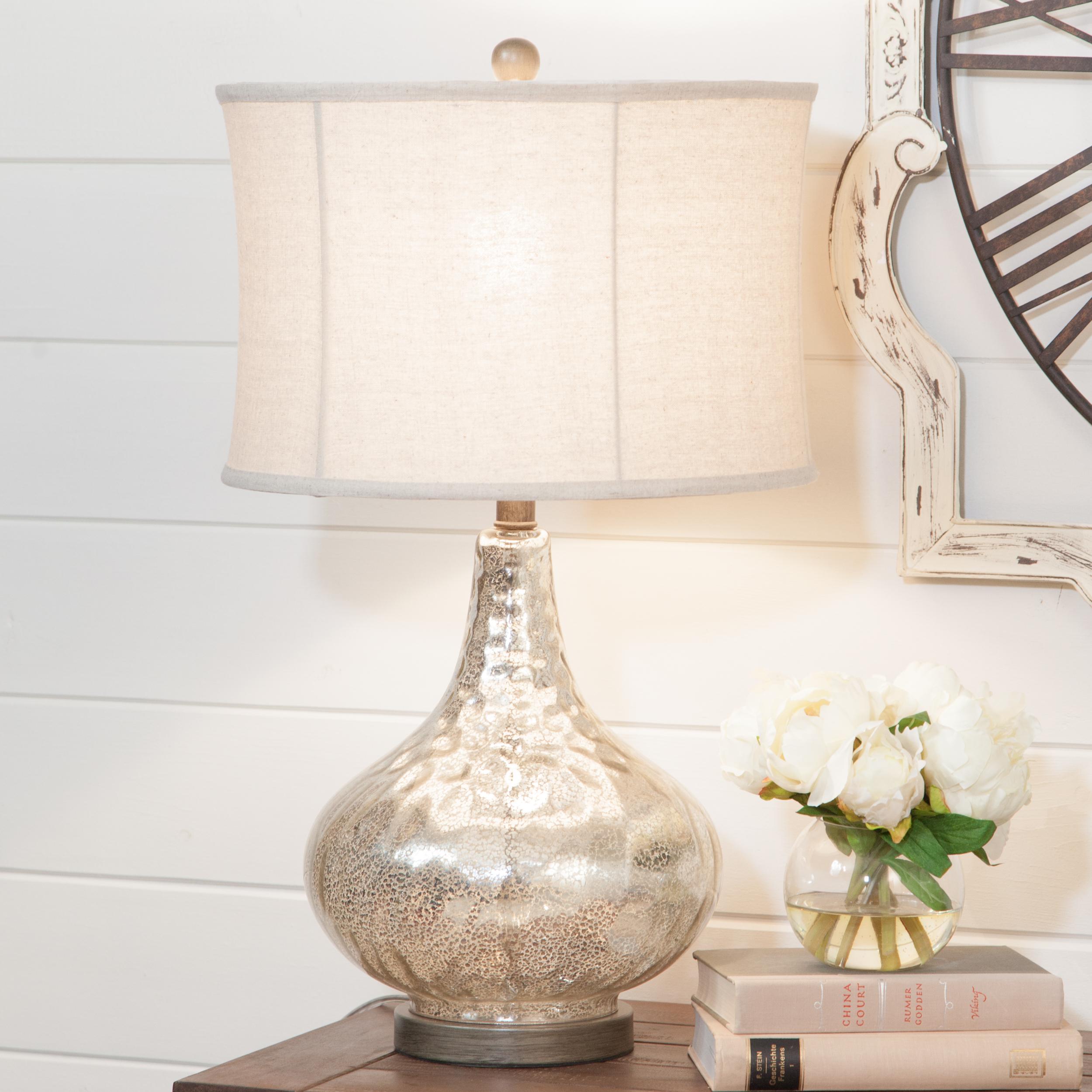 Image of: Janus Antique Mercury Table Lamp Walmart Com Walmart Com