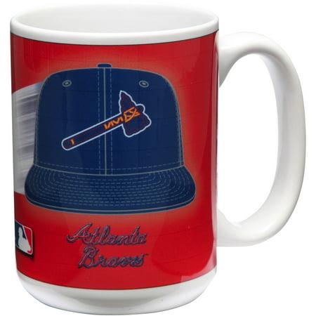 Atlanta Braves 15oz. Team 3D Graphic Mug - No Size Atlanta Braves Travel Mug