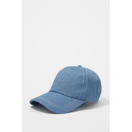 78188e10ca6aa Urban Planet Women s Topstitched Classic Baseball Hat - image 2 of ...