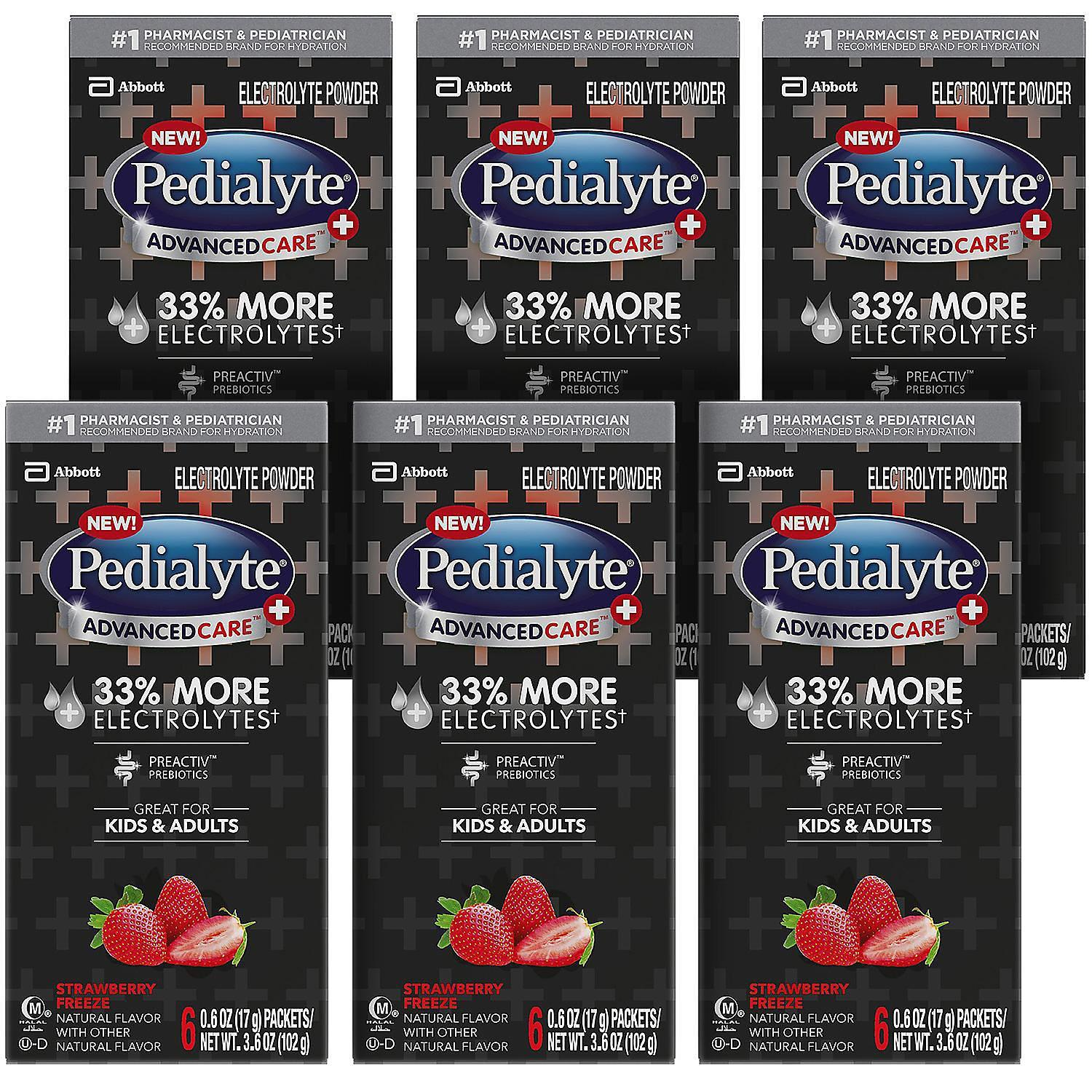 Pedialyte AdvancedCare Plus Electrolyte Powder Packets, 36